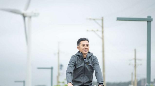 可騎單車賞風車(圖:新竹市政府提供)