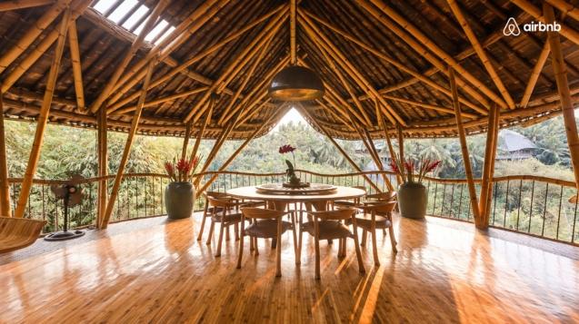 巴厘島竹樹屋©Airbnb