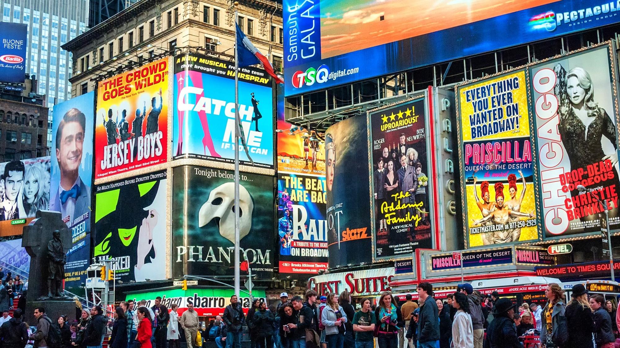 百老彙的劇院在2020年關閉©Allen.G / Shutterstock