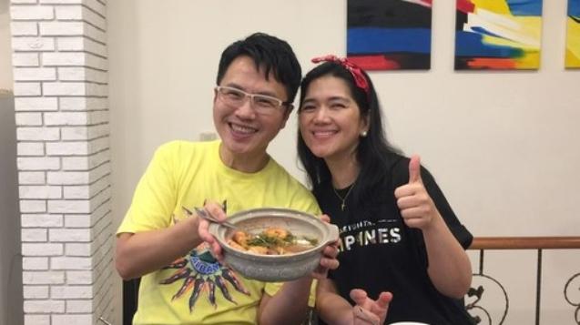 旅遊作家溫士凱與菲律賓觀光部台灣分處處長海瑟博士。(圖/菲律賓觀光部台灣分處)
