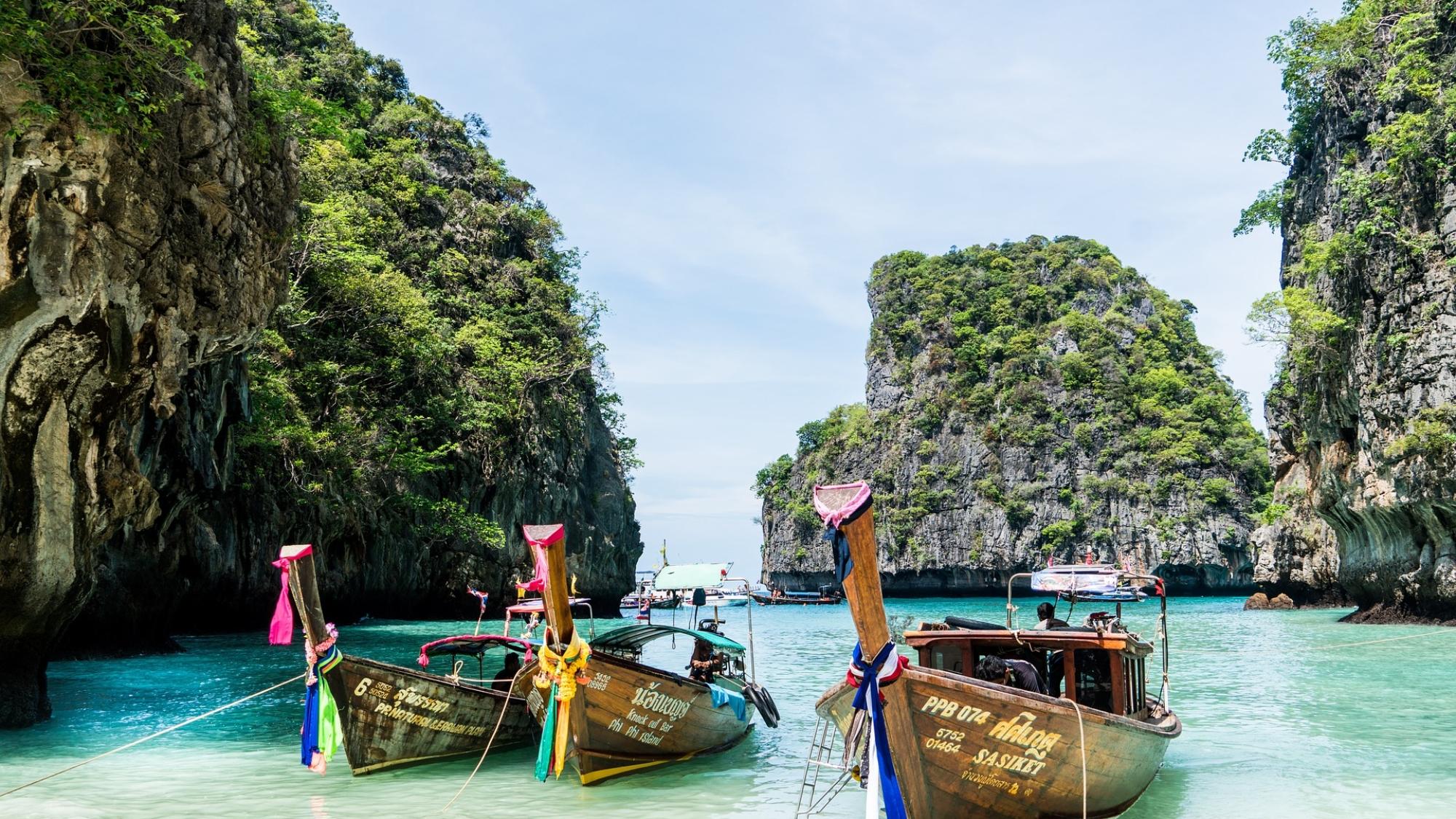 泰國政府10月有意開放普吉島觀光。(PIXABAY)
