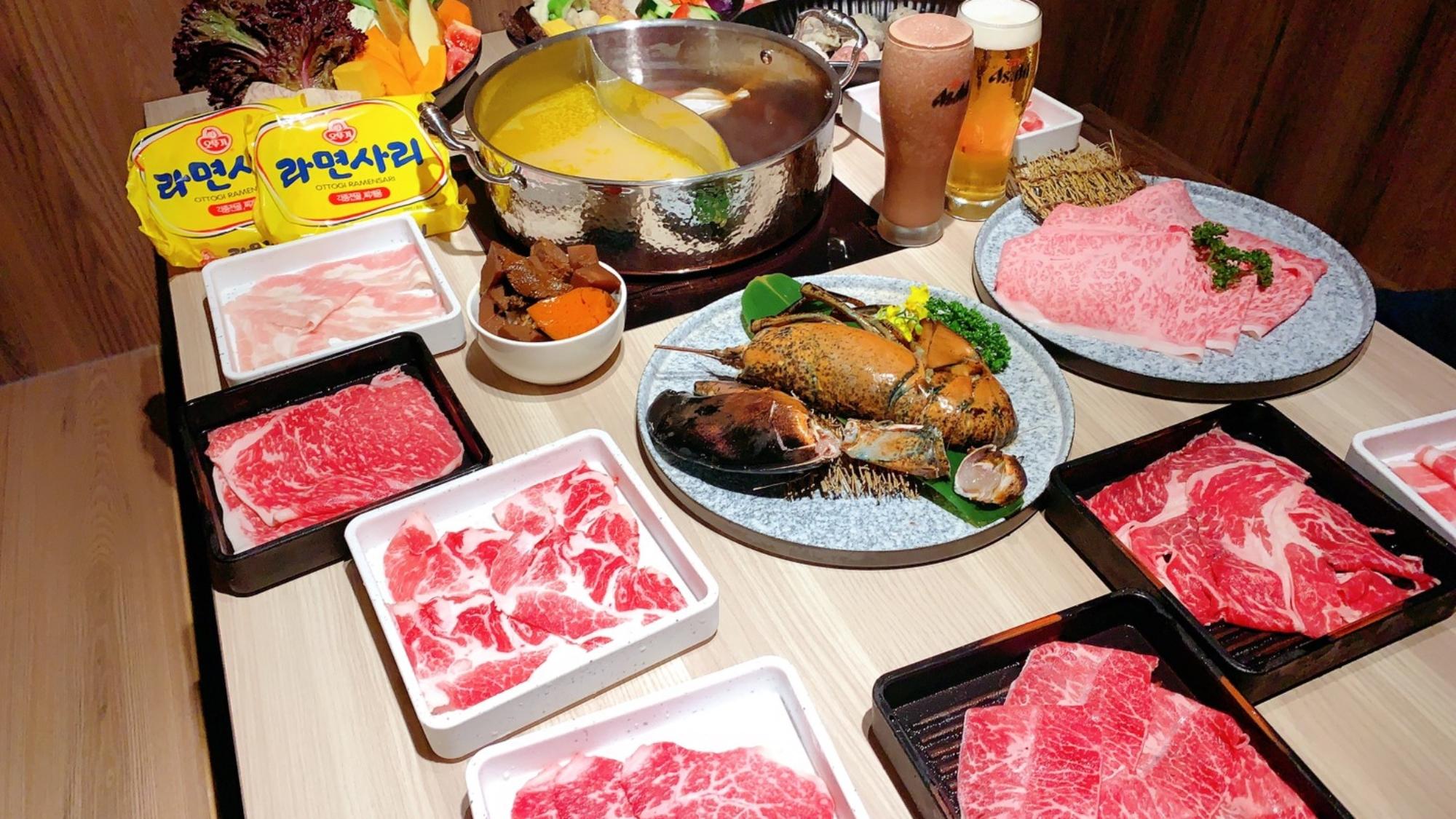 築間餐飲集團「有之和牛鍋物放題」,主打和牛吃到飽將登陸台中。(圖/築間提供)
